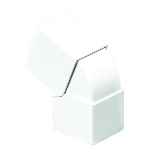 Efapel 13026 ABR Угол внешний изменяемый, 40х40мм, белый, Efapel