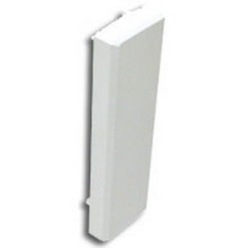 Заглушка торцевая для кабель-канала DLP 40х16, белая, Legrand