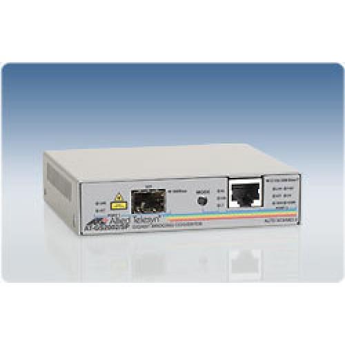 Конвертер 10/100/1000T to SFP Dual port Switch
