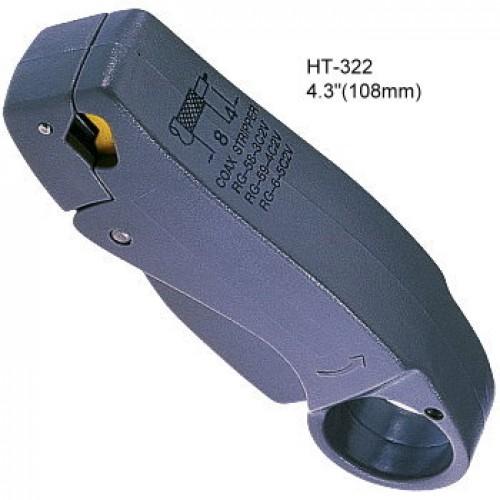 Инструмент для зачистки коаксиального кабеля RG-58/59/62/6