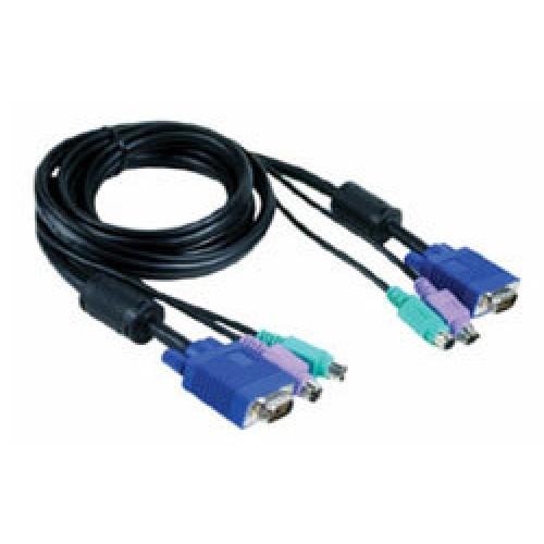 Набор кабелей для DKVM 2хPS/2 + монитора 5м
