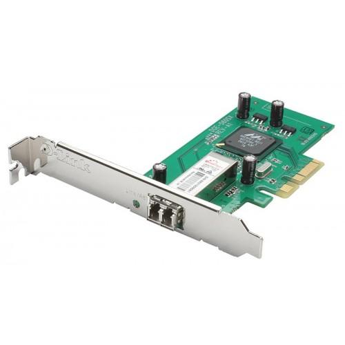 Адаптер сетевой оптический PCI Express 1000Mbps mm LC