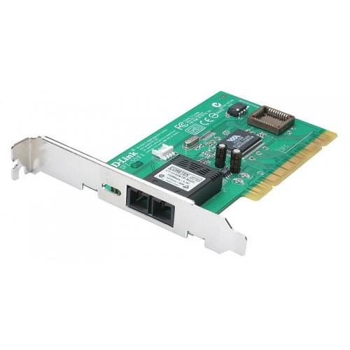 Адаптер сетевой оптический PCI 10/100Mbps mm SC, CoS, VLAN