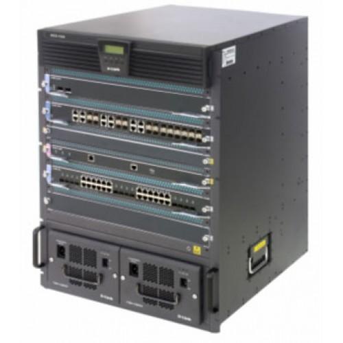 Шасси коммутатора L3, 2 слота для CPU-модулей, 6 слотов для линейных карт