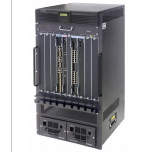 Шасси коммутатора L3, 2 слота для CPU-модулей, 8 слотов для линейных карт