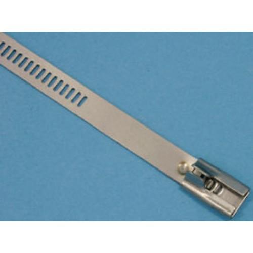 Стяжка стальная 335х7мм, не открывающаяся, (сталь), KSS (уп.100шт.)