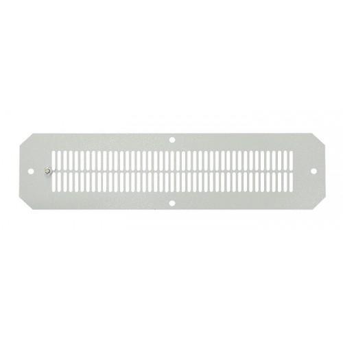 Вентиляционная решетка для шкафов серии SWJ 350x90мм, цвет серый