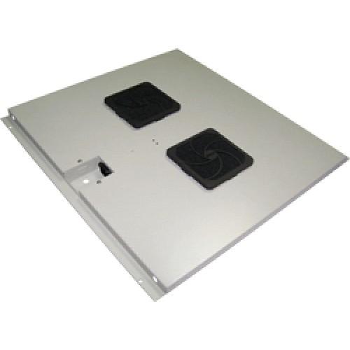 Блок вентиляторов в крышу шкафа Eco глубиной 600, 2 вентилятора