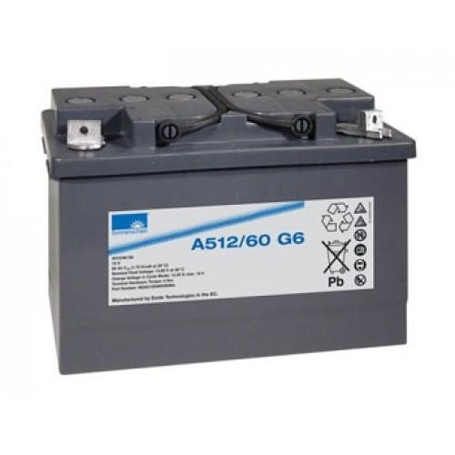Гелевый аккумулятор  A512/60.0 G6