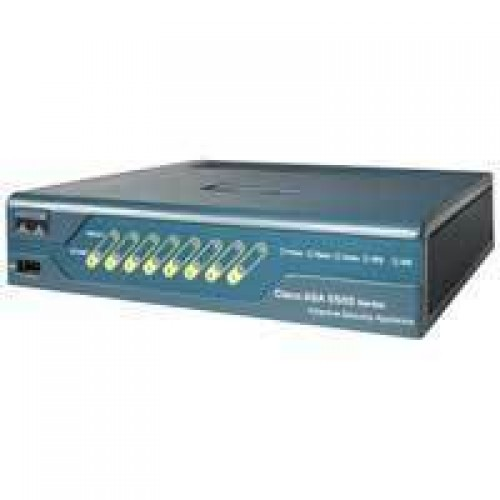 ASA 5505 Appliance with SW, 10 Users, 8 ports, 3DES/AES
