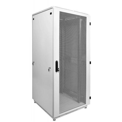Шкаф телекоммуникационный напольный ЦМО ШТК-М 42U 2030х600х600 перфорированная дверь серый ШТК-М-42.6.6-4ААА