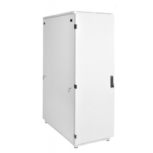 Шкаф телекоммуникационный напольный ЦМО ШТК-М 42U 2030х800х800 металлическая дверь серый ШТК-М-42.8.8-3ААА