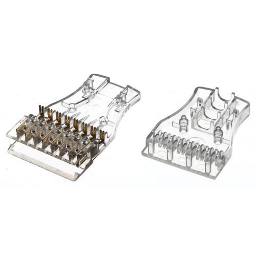 Hyperline 110C-C-4P Вилка (разъем) 4 пары 110 типа