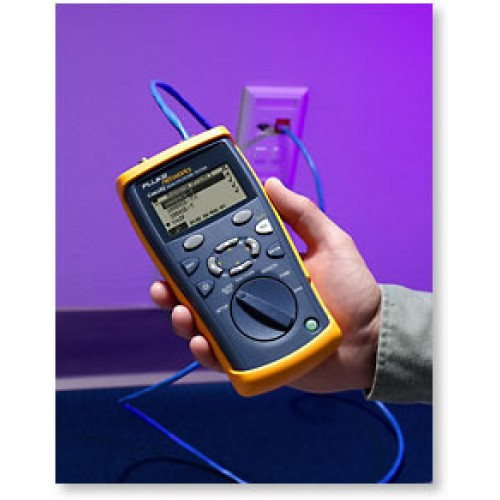 Тестер CableIQ для сетей Ethernet (прибор, удаленный адаптер, мягкая сумка)