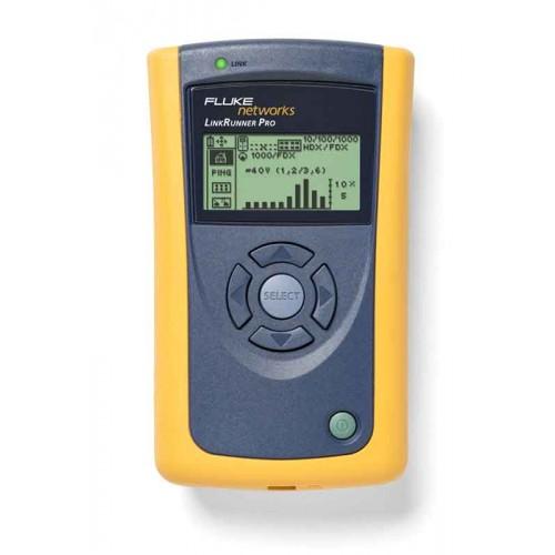 Сетевой мультиметр LRPRO-1000 (тестер LinkRunner Pro, кабельный идентификатор WireView №1, CD с ПО L