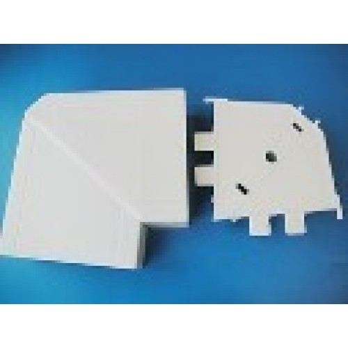 Угол плоский переменный для мини-канала DLP 50x100, белый, Legrand 030916