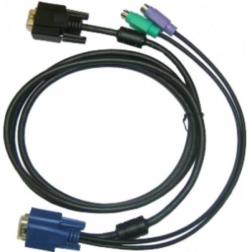Набор кабелей для DKVM-IP1/IP8 длина 1.8м (6ft)