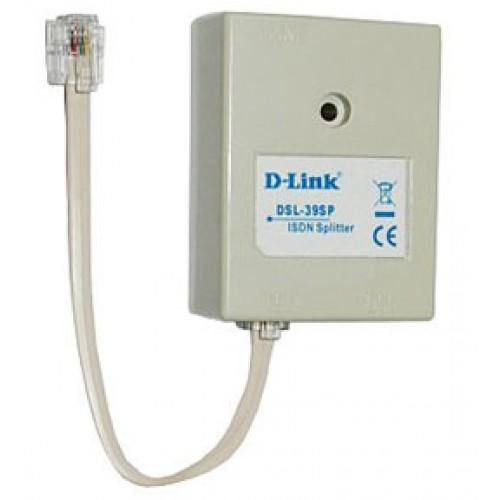 Сплиттер ADSL Annex B c телефонным кабелем 12 см