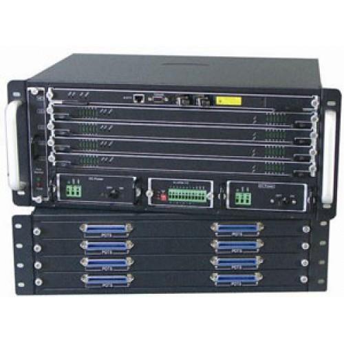 Модульный IP DSLAM с 4-мя модулями ADSL/SHDSL
