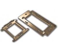 Металлический суппорт для установки 45х45 LAN-MF45x45