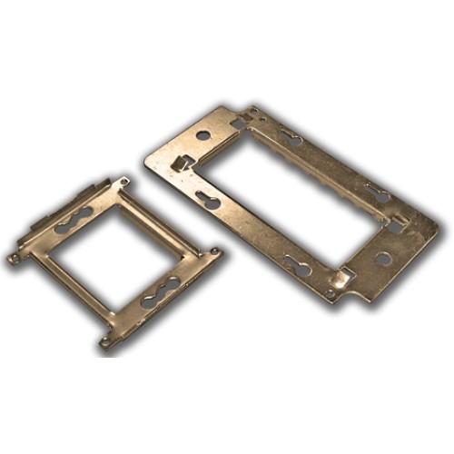 Металлический суппорт для установки 45х135 LAN-MF45x135