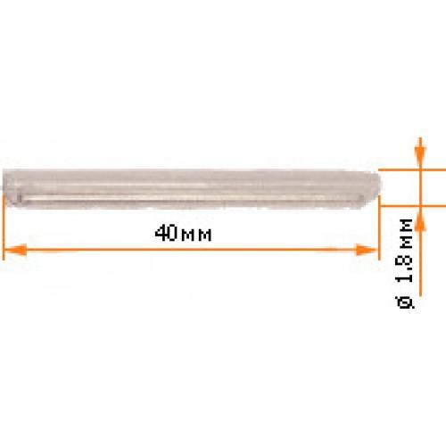 Трубка для защиты места сварки оптических волокон, КДЗС 40 мм