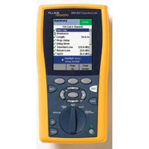 Кабельный анализатор DTX-ELT, П/О LinkWare, адаптер для тест, канала кат, 6/класс E (2шт,), блок пит