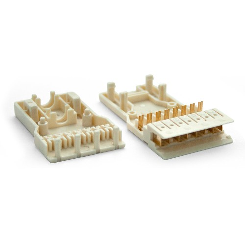 Вилка 4 пары 110 типа, LANMASTER LAN-S110P4