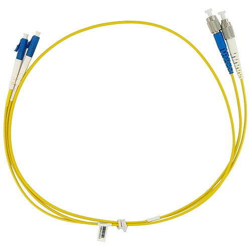 Шнур оптический FC-LC/APC, duplex, 9/125, 2m, FM
