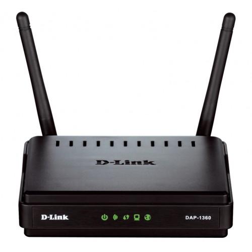 Беспроводная точка доступа D-Link DAP-1360 802.11n wf