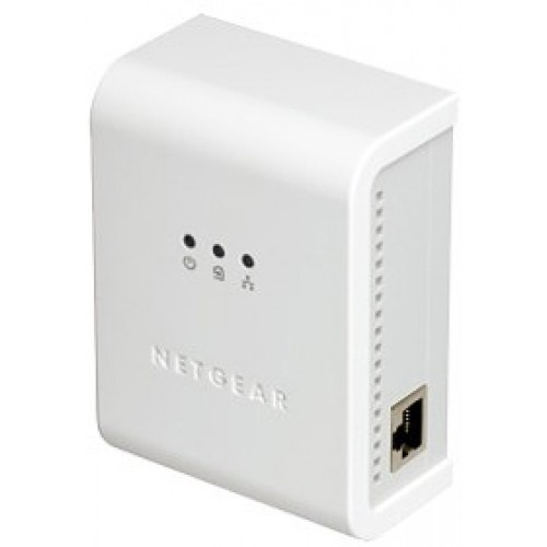 Адаптер Powerline NETGEAR HDX101-100ISS HD Ethernet-адаптер 200Mbps