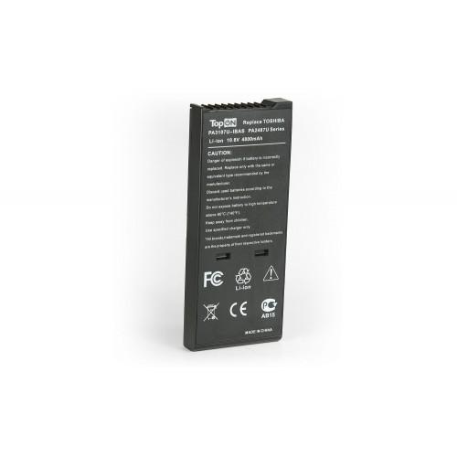 Toshiba Satellite 1400, 1500, 1800, 2400, 2800, 4000 series аккумулятор для 10.8V 4400mAh PN: PA2487