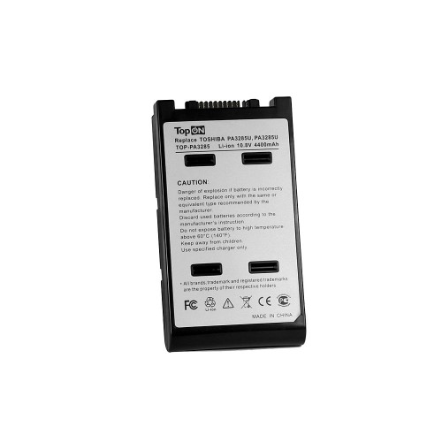 Аккумулятор для ноутбука Toshiba Satellite A10, A15, Tecra A8, Dynabook Satellite J60, K10 Series. 10.8V 4400mAh 48Wh. PN: PA3284U-1BAS, PABAS073.