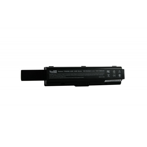 Аккумулятор для ноутбука усиленный Toshiba Satellite A200, A210, A300, A500, L200, L500, M200 Series. 10.8V 6600mAh PN: PA3534U-1BAS, PABAS098