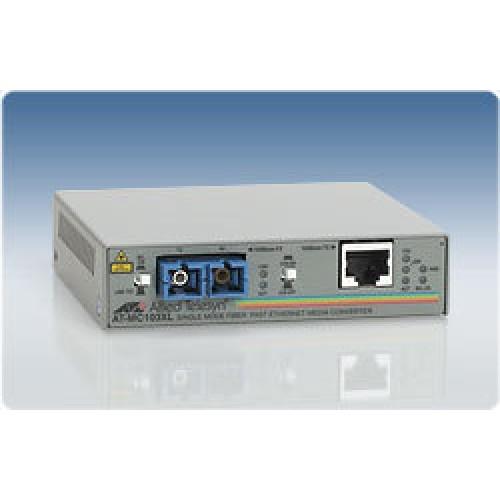Конвертер среды Media Converter 100BaseTX to 100BaseFX (SC Singlemode 15km)