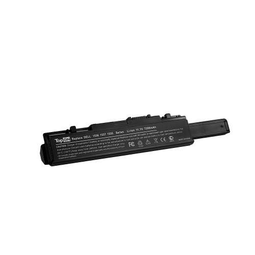 Аккумулятор для ноутбука Dell Studio 1535, 1536, 1537, 1555, 1557 Series. 11.1V 7200mAh 80Wh, усиленный. PN: KM887, WU946.