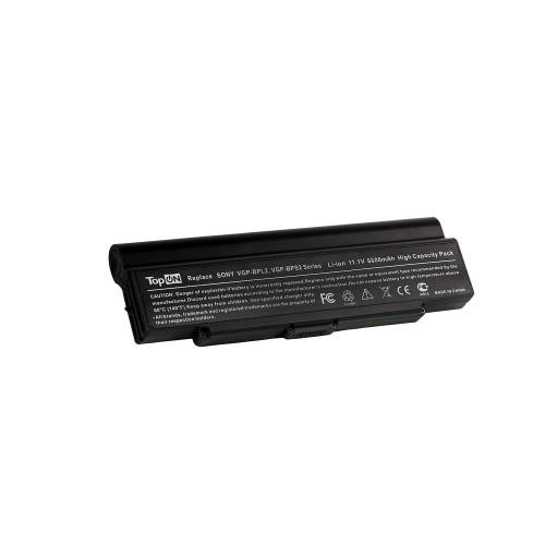 Аккумулятор для ноутбука Sony Vaio VGN-AR, VGN-C, VGN-FE, VGN-N, VGN-S, VGN-Y Series. 11.1V 6600mAh 73Wh, усиленный. PN: VGP-BPL2, VGP-BPS2.