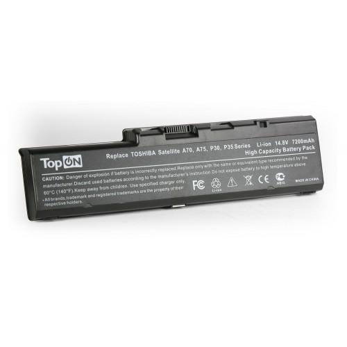 Аккумулятор для ноутбука усиленный Toshiba Satellite A70, A75, P30, P35 Series. 14.8V 7200mAh PN: PA3383U-1BAS, PA3383
