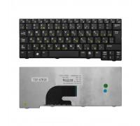 Клавиатура для ноутбука Acer Aspire One 531, A110, A150, D150, ZG5 Series. Г-образный Enter. Черная без рамки. PN: 9J.N9482.00R.
