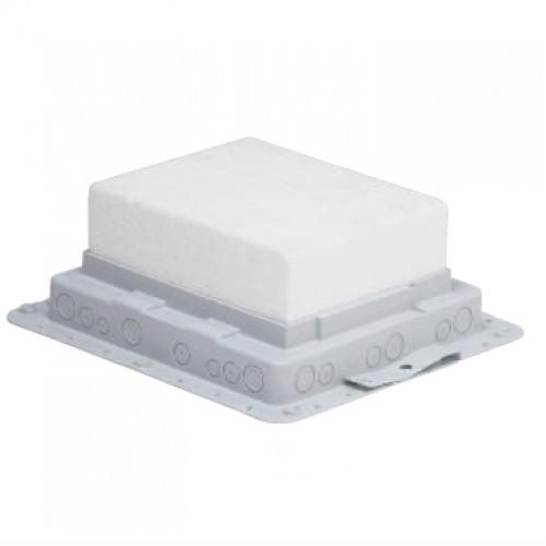 Монтажная коробка Legrand 089631 для бетонных полов для встраивания напольных коробок на 18М
