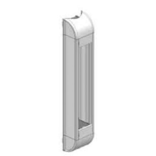 Розеточный блок белый, неукомплектованный, емкостью до 8 модулей
