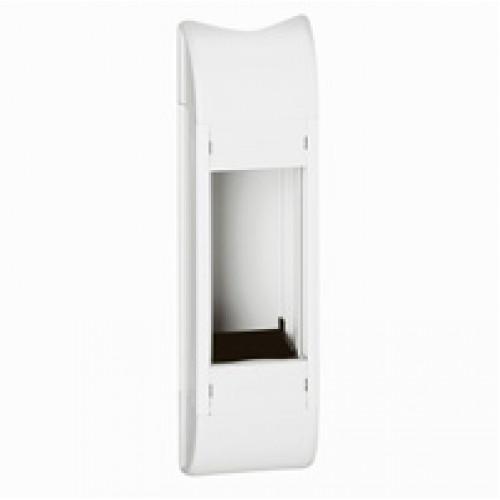 Розеточный блок белый, неукомплектованный, емкостью до 4 модулей