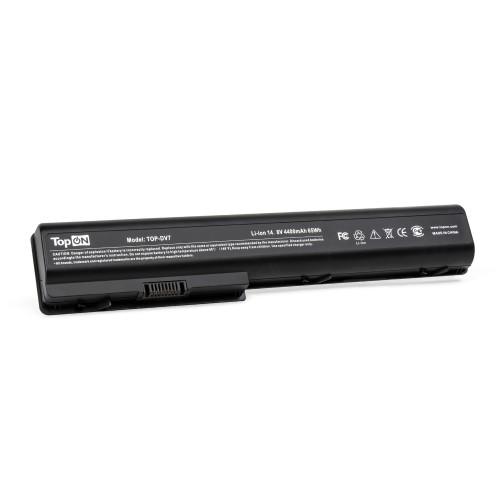 Аккумулятор для ноутбука HP HDX18, X18, Pavilion dv7, dv8 Series. 14.8V 4400mAh 63Wh. PN: HSTNN-IB75, HSTNN-XB75.