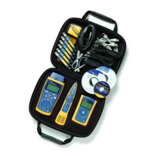 Комплект для обслуживания Gigabit (квалифицирующий тестер CableIQ, сетевой мультиметр LinkRunner Pro