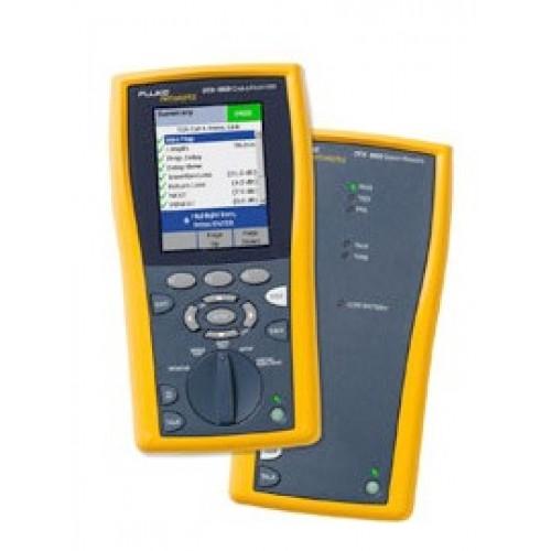 Кабельный анализатор DTX-1800 INTL, многомодовый модуль DTX-MFM2 (2шт.), одномодовый модуль DTX-SFM2