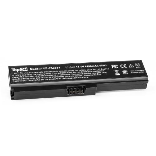 Аккумулятор для ноутбука Toshiba Satellite Pro A660, C645, L310, M300, T110, Equium U400 Series. 10.8V 4400mAh 49Wh. PN: PA3634U-1BAS, PA3635U-1BAM.