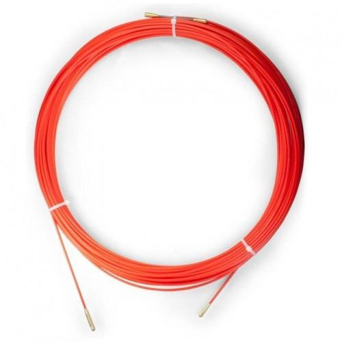 Устройство для протяжки кабеля мини УЗК в пластмассовой коробке 50м