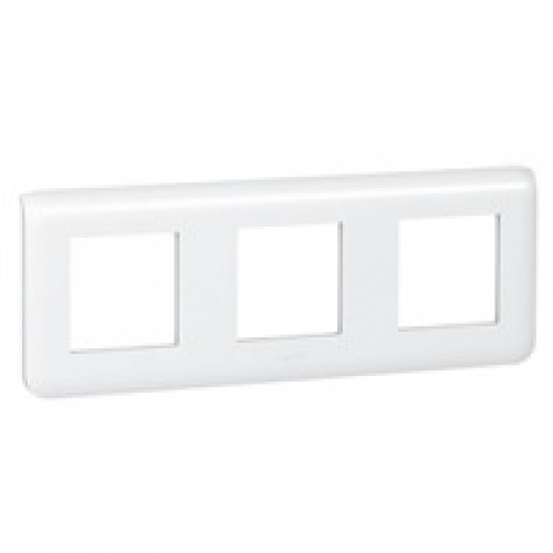 Рамка декоративная Mosaic 6М - 3х2 горизонтальная белая