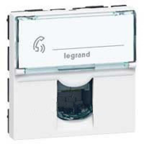 Розетка Legrand 078732 Mosaic 2M RJ12