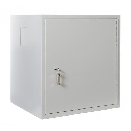 Шкаф настенный ЦМО 12U 633х600х530 антивандальный серый ШРН-А-12.520
